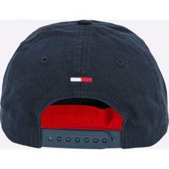 Tommy Jeans - Czapka. Czarne czapki i kapelusze damskie Tommy Jeans, z bawełny. Za 129.90 zł.