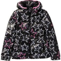 Kurtka dwustronna bonprix czarno-różowy. Kurtki i płaszcze dla dziewczynek marki Giacomo Conti. Za 99.99 zł.