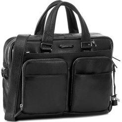 Torba na laptopa PIQUADRO - CA2849MO/N Czarny. Czarne torby na laptopa męskie Piquadro, ze skóry. W wyprzedaży za 1,479.00 zł.