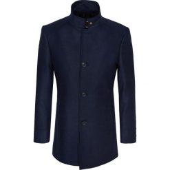 Płaszcz FLORIANO 15-27WK. Brązowe płaszcze męskie Giacomo Conti, na jesień, z materiału, klasyczne. Za 799.00 zł.