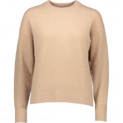 Sweter w kolorze beżowym. Brązowe swetry damskie Gottardi, z wełny, z okrągłym kołnierzem. W wyprzedaży za 195.95 zł.