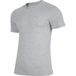 T-shirt męski TSM300 - chłodny jasny szary melanż. T-shirty męskie marki Giacomo Conti. Za 39.99 zł.