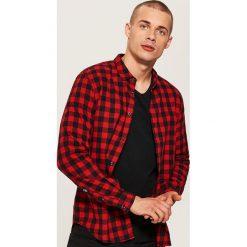 497730456d Koszula w kratę - Czerwony. Koszule damskie marki Bien fashion.
