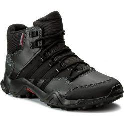 Buty adidas - Terrex Ax2r Beta Mid Cw S80740 Cblack/Cblack/Visgre. Czarne trekkingi męskie Adidas, z materiału. W wyprzedaży za 349.00 zł.