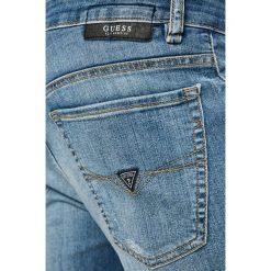 Guess Jeans - Jeansy Angels. Niebieskie jeansy męskie Guess Jeans. W wyprzedaży za 269.90 zł.