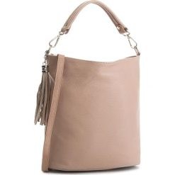 Torebka CREOLE - K10489 Pudrowy Róż. Czerwone torebki do ręki damskie Creole, ze skóry. Za 189.00 zł.