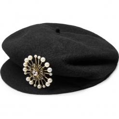 Czapka TWINSET - Basco OA8T93 Nero 00006. Czarne czapki i kapelusze damskie Twinset, z materiału. Za 339.00 zł.