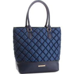 Torebka MONNARI - BAGB300-013 Navy. Niebieskie torebki do ręki damskie Monnari, z materiału. W wyprzedaży za 199.00 zł.