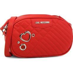 Torebka LOVE MOSCHINO - JC4078PP16LL0500 Rosso. Czerwone listonoszki damskie Love Moschino, ze skóry ekologicznej. W wyprzedaży za 459.00 zł.