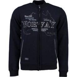 """Bluza """"Gebel"""" w kolorze granatowym. Bluzy dla chłopców Geographical Norway Women & Kids, prążkowane. W wyprzedaży za 86.95 zł."""