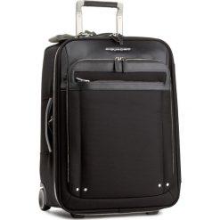 Mała Materiałowa Walizka PIQUADRO - BV2768LK Czarny. Czarne walizki damskie Piquadro, z materiału. W wyprzedaży za 1,379.00 zł.