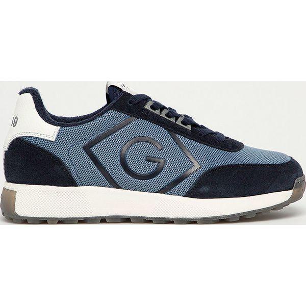 Gant Buty Garold Niebieskie Buty Sportowe Meskie Gant Z Gumy Bez Zapiecia Za 479 90 Zl Buty Sportowe Meskie Obuwie Meskie Dla Mezczyzn Chillizet Pl