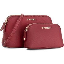 Torebka TWINSET - Set 2 Beauty Case AA7PDX Rubino 00045. Czerwone torebki do ręki damskie Twinset, ze skóry. W wyprzedaży za 379.00 zł.