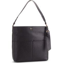 Torebka DKNY - Essex-Shoulder-Amste R833A750 Blk/Gold 82. Czarne torebki do ręki damskie DKNY, ze skóry. Za 1,199.00 zł.
