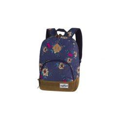 Plecak młodzieżowy CoolPack Classic Blue Denim Flowers. Niebieskia torby i plecaki dziecięce Patio, z denimu. Za 81.00 zł.