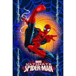 Jerry Fabrics Koc Polarowy Spiderman. Niebieskie kocyki dla dzieci Jerry Fabrics, z polaru. Za 35.00 zł.