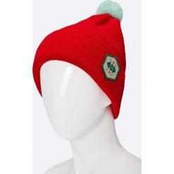 Femi Pleasure - Czapka Aldabra. Czerwone czapki i kapelusze damskie Femi Stories, z dzianiny. W wyprzedaży za 89.90 zł.