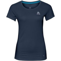 Odlo Koszulka damska Crew neck s/s Omnius F-Dry granatowa r. S (312331). T-shirty damskie Odlo. Za 116.21 zł.