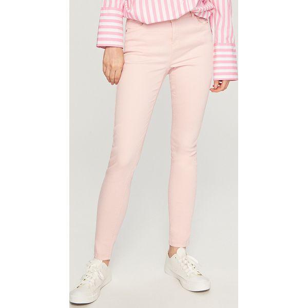 0232040a9e54 Spodnie push up - Różowy - Spodnie materiałowe damskie marki ...