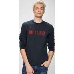 Mustang - Bluza. Szare bluzy męskie Mustang, z nadrukiem, z bawełny. W wyprzedaży za 119.90 zł.