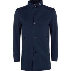Płaszcz FLORIANO PSGS000046. Niebieskie płaszcze męskie Giacomo Conti, na jesień, z materiału. Za 699.00 zł.