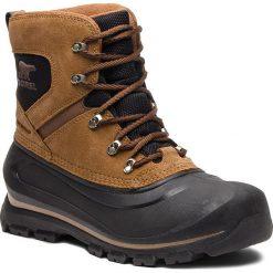 Śniegowce SOREL - Buxton Lace 1760181257  Delta/Black. Brązowe śniegowce i trapery męskie Sorel, z gumy. Za 529.99 zł.