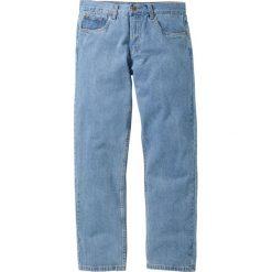 Dżinsy Regular Fit Straight bonprix jasnoniebieski. Jeansy męskie marki bonprix. Za 59.99 zł.