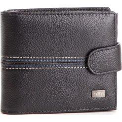 Duży Portfel Męski NOBO - NPUR-MG0040-C020 Czarny. Czarne portfele męskie Nobo, ze skóry. W wyprzedaży za 139.00 zł.