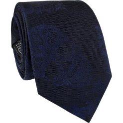 Krawat jedwabny KWGR000222. Czarne krawaty i muchy Giacomo Conti, z jedwabiu. Za 129.00 zł.