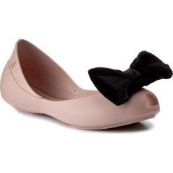 Baleriny MELISSA - Mel Queen IV Inf 31981 Pink/Black 51647. Baleriny dziewczęce Melissa, z materiału. W wyprzedaży za 169.00 zł.