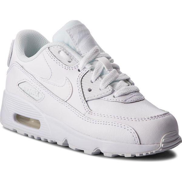 Obuwie Dziecięce Nike Air Max 90 Ltr Ps 833414 105 (Biały