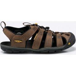 Keen - Sandały Clearwater Cnx. Brązowe sandały męskie Keen, z gumy. W wyprzedaży za 319.90 zł.