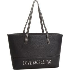 Torebka LOVE MOSCHINO - JC4063PP16LS000B Nero Galv.Nikel. Czarne torebki do ręki damskie Love Moschino, ze skóry ekologicznej. W wyprzedaży za 649.00 zł.