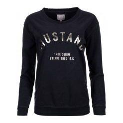 Mustang Bluza Damska M Ciemnoniebieski. Czarne bluzy damskie Mustang, z bawełny. Za 196.00 zł.