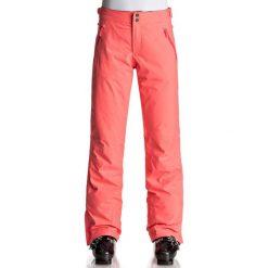 Roxy MONTANA Spodnie narciarskie pink. Spodnie snowboardowe damskie Roxy, z materiału, sportowe. W wyprzedaży za 872.10 zł.