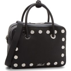Torebka KARL LAGERFELD - 86KW3068 Black. Czarne torebki do ręki damskie KARL LAGERFELD, ze skóry. W wyprzedaży za 1,109.00 zł.