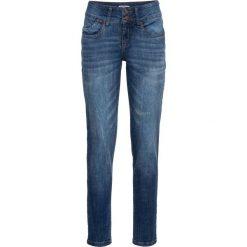 Dżinsy ze stretchem CLASSIC bonprix niebieski. Jeansy damskie marki bonprix. Za 109.99 zł.