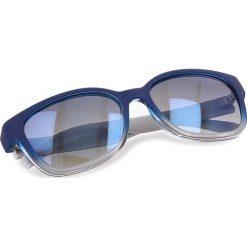 Okulary przeciwsłoneczne BOSS - 0251/S Blue SWW. Niebieskie okulary przeciwsłoneczne damskie Boss, z tworzywa sztucznego. W wyprzedaży za 429.00 zł.