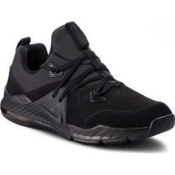 Buty NIKE - Zoom Train Command Lthr AA3984 006 Black/Black/Black. Czarne buty sportowe męskie Nike, z materiału. W wyprzedaży za 369.00 zł.