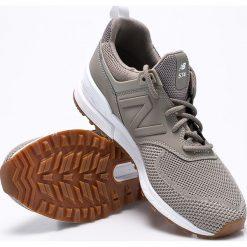 New Balance - Buty MS574EMG. Brązowe buty sportowe męskie New Balance, z gumy. W wyprzedaży za 399.90 zł.