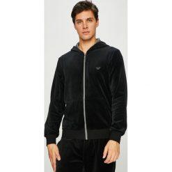 Emporio Armani - Bluza. Czarne bluzy męskie Emporio Armani, z bawełny. Za 599.90 zł.