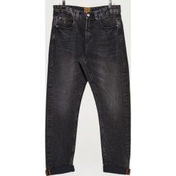 Jeansy COMFORT - Czarny. Czarne jeansy męskie Cropp. Za 119.99 zł.