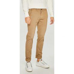 Pepe Jeans - Spodnie Sloane. Szare eleganckie spodnie męskie Pepe Jeans, z bawełny. W wyprzedaży za 199.90 zł.