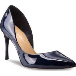 Szpilki MACCIONI - 974  Niebieski. Niebieskie szpilki damskie Maccioni, z lakierowanej skóry. W wyprzedaży za 199.00 zł.