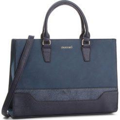 Torebka MONNARI - BAG9970-013 Navy. Niebieskie torebki do ręki damskie Monnari, ze skóry ekologicznej. W wyprzedaży za 199.00 zł.