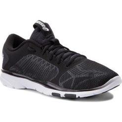 Buty ASICS - Gel-Fit Tempo 3 S752N  Black/Silver/White 9093. Czarne obuwie sportowe damskie Asics, z materiału. W wyprzedaży za 199.00 zł.