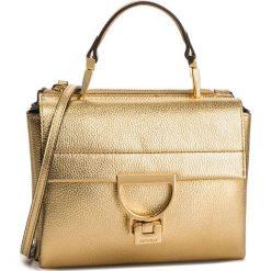 Torebka COCCINELLE - DD5 Arlettis E1 DD5 55 B7 01 Platino N49. Żółte torebki do ręki damskie Coccinelle, ze skóry. Za 1,149.90 zł.
