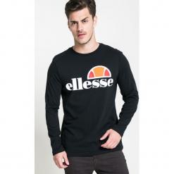 Ellesse - Longsleeve. Szare bluzki z długim rękawem męskie Ellesse, z nadrukiem, z bawełny, z okrągłym kołnierzem. W wyprzedaży za 149.90 zł.