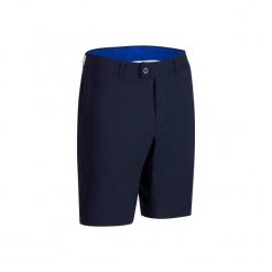 Spodenki do golfa bermudy 900 męskie. Niebieskie szorty męskie INESIS, z materiału. Za 79.99 zł.