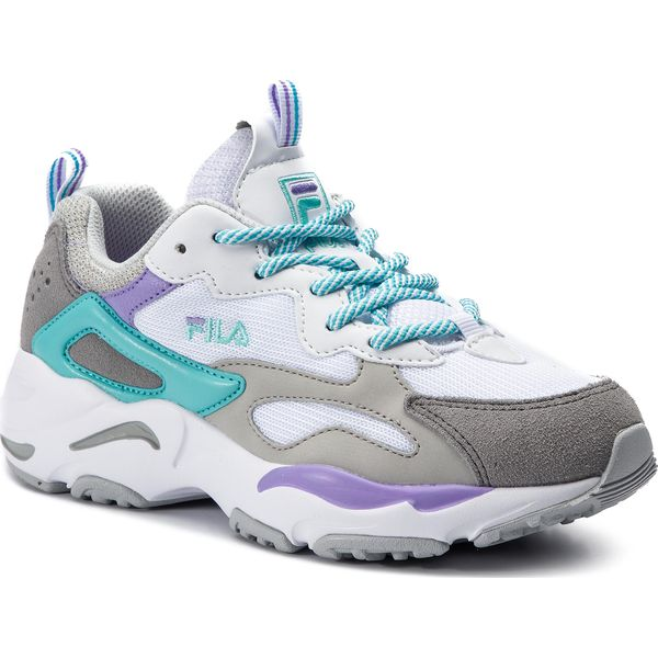 Sneakersy FILA Ray Tracer Wmn 1010686.02D WhiteViolet TulipBlue Curacao